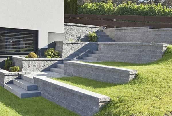 Виды и конструкции подпорных стенок
