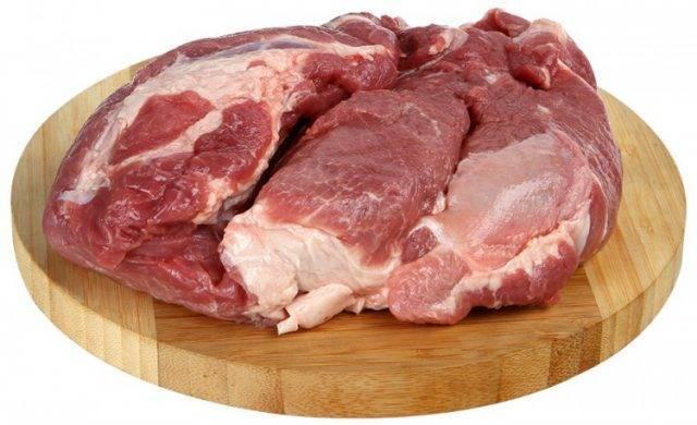 Разделка свиной туши. схема