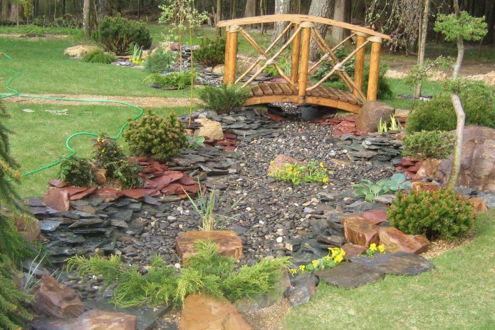 Сухой ручей в ландшафтном дизайне: как создать красоту и гармонию на садовом участке