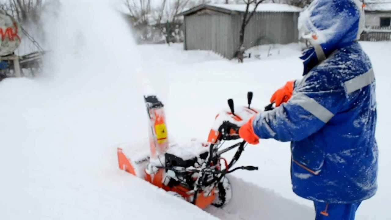 Снегоуборщик прораб (prorab) отзывы характеристика моделей