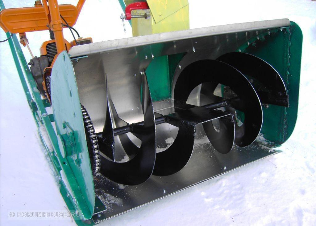 Самодельные снегоуборочные машины для дома своими руками