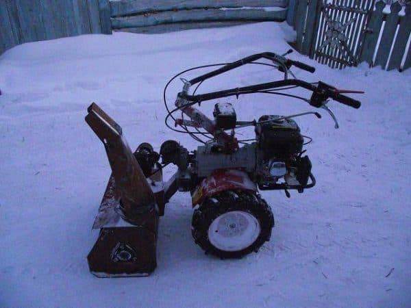 Минитрактор, газонокосилка и снегоуборщик - как сделать самому