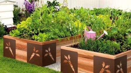 Красивый огород своими руками – 22 идеи по обустройству грядок