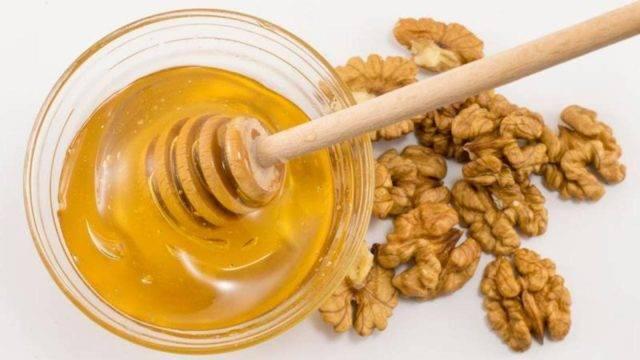 Мед с орехами: польза и возможный вред | польза и вред