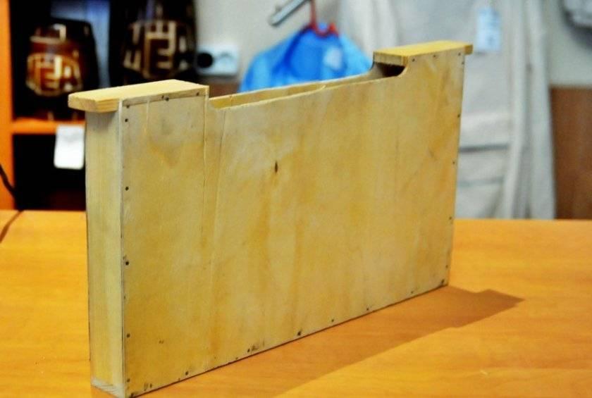 Улей лежак — изготовление своими руками