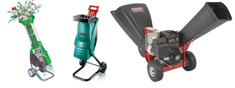 Садовый измельчитель для травы и веток: рейтинг самых лучших моделей