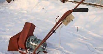 Как сделать фрикционное кольцо для снегоуборщика