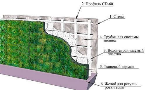 Вертикальное озеленение своими руками: 20 фото и схемы