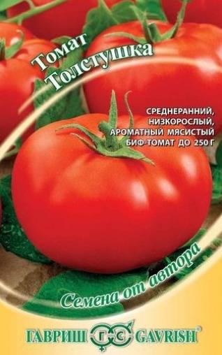 Томаты Толстушка: описание, фото