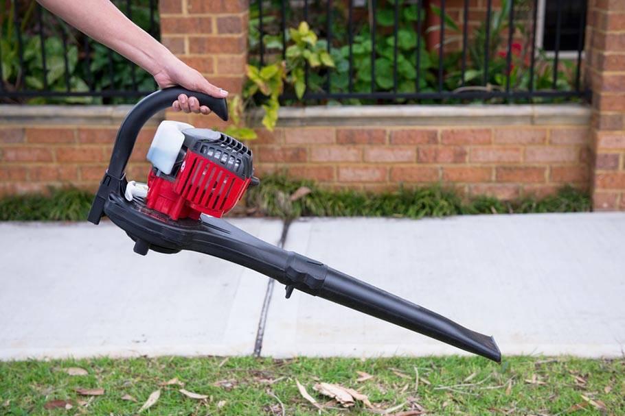 Садовый пылесос с измельчителем