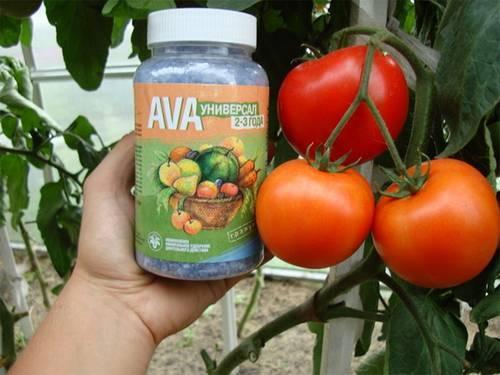 Применение удобрения ава (ava)