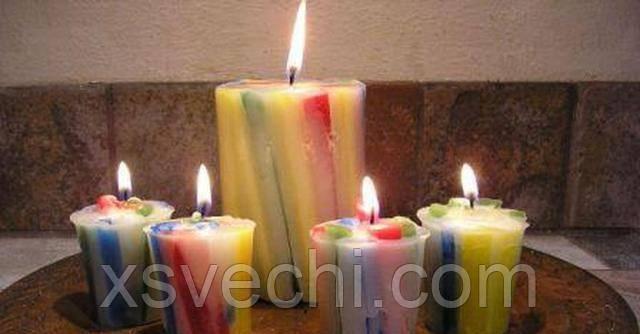 Как сделать свечи своими руками в домашних условиях?