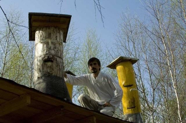 Колода для пчел: как сделать своими руками, чертежи