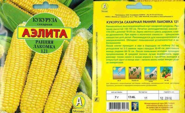 Кукуруза сахарная лакомка — описание сорта, фото и отзывы