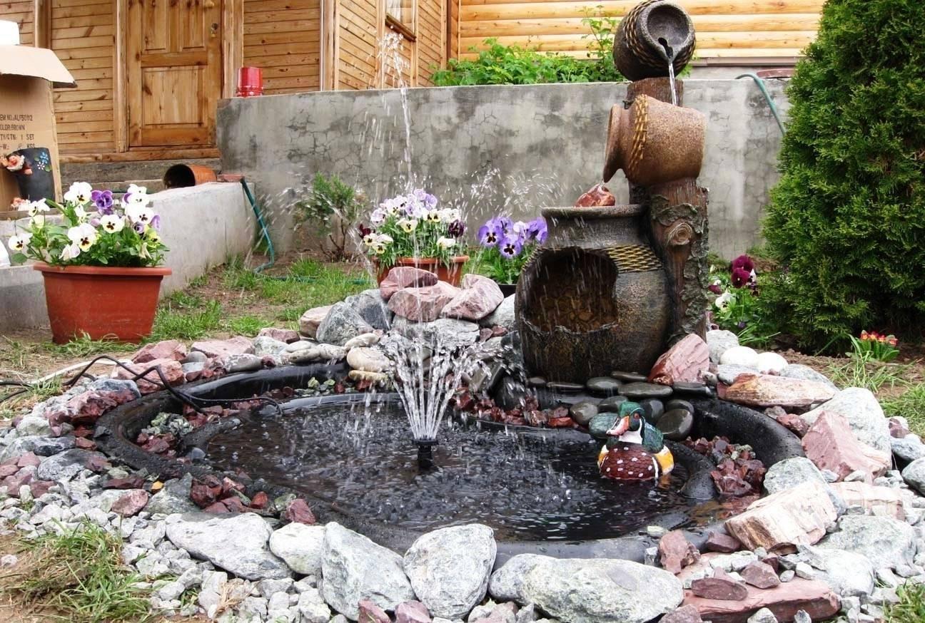 Мастер-класс по изготовлению садовых фонтанов: просто и красиво!