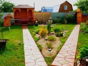 Способы красиво благоустроить свой дачный и загородный участок