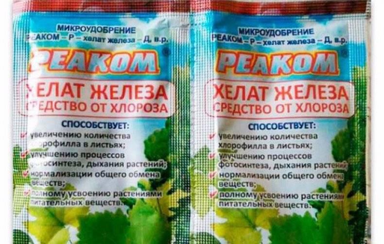 Хелат железа для растений, популярные хелатные микроудобрения