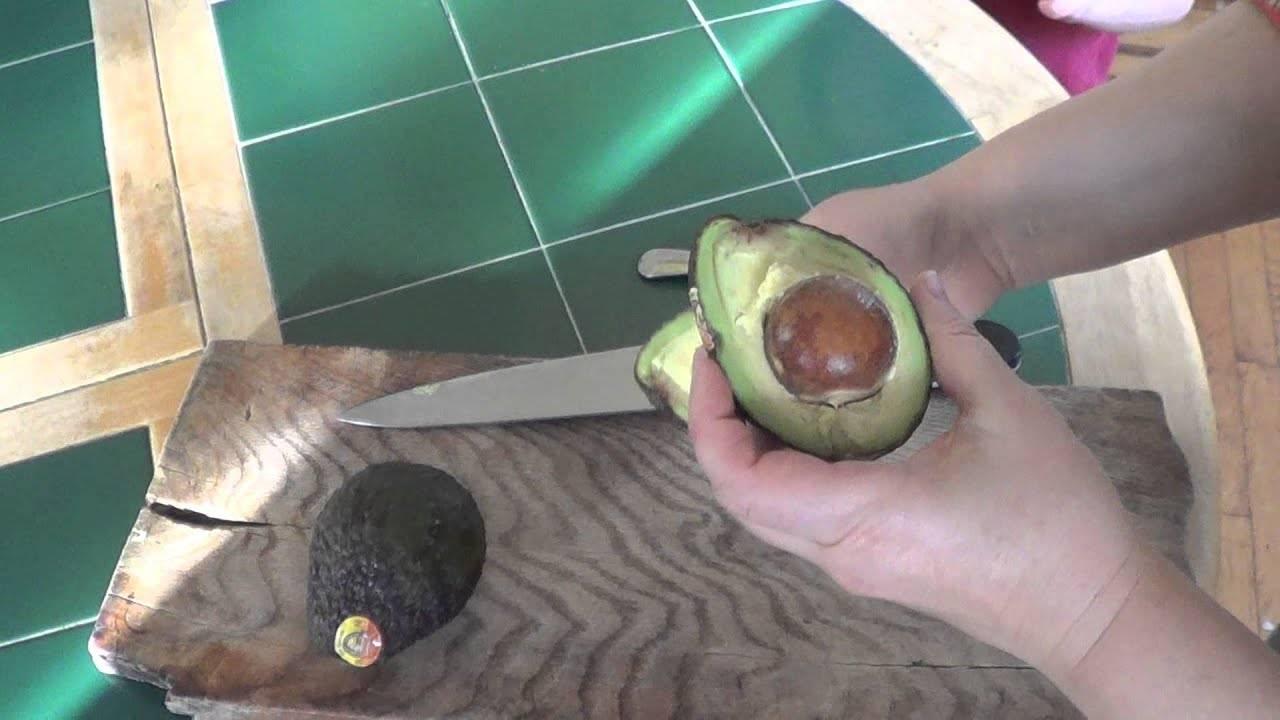 Можно ли есть почерневший авокадо