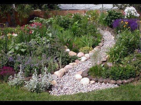 Волшебство в саду своими руками – сухой ручей в ландшафтном дизайне