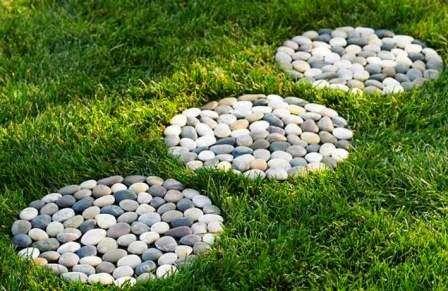 Садовые дорожки своими руками: как сделать с малыми затратами из подручных материалов + фото и видео