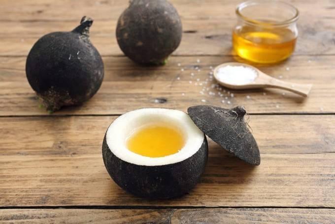 Как приготовить редьку с медом от кашля?
