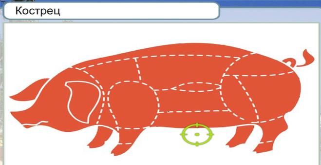 Крестец свиной что приготовить. крестец у свиньи