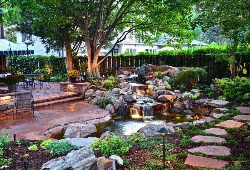 Ландшафтный дизайн частного дома своими руками с30 фото дворов