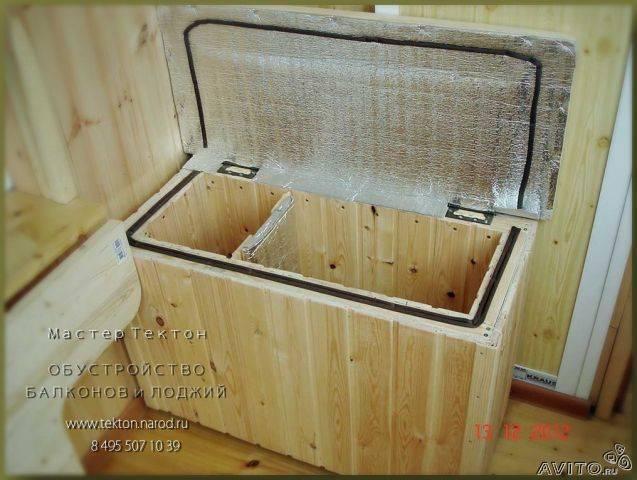 Температура для хранения картошки зимой на балконе и ящик своими руками