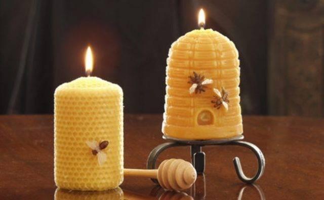 О пользе восковых свечей и ароматерапии