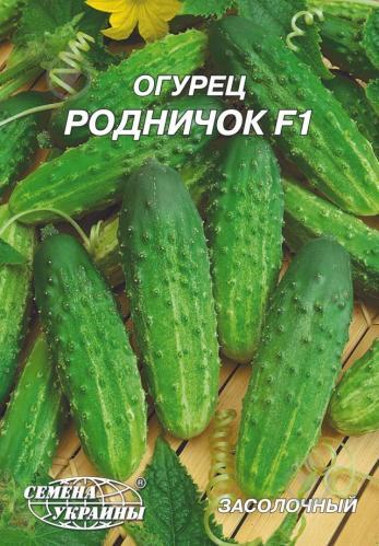 Огурец «родничок f1»: описание гибридного сорта, фото и отзывы