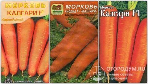 Морковь Наталья F1