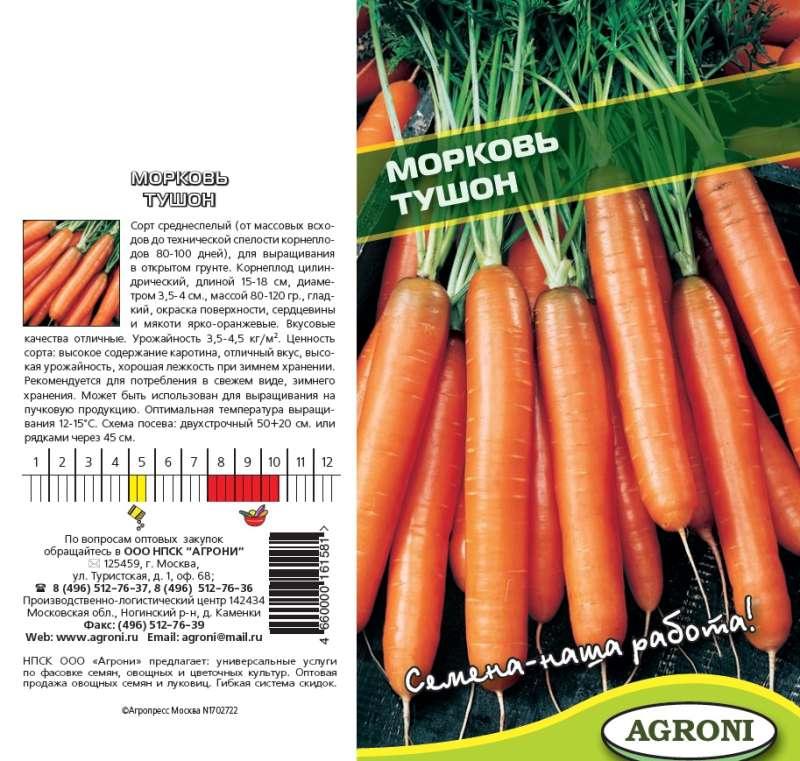 Семена моркови: лучшие сорта с отзывами
