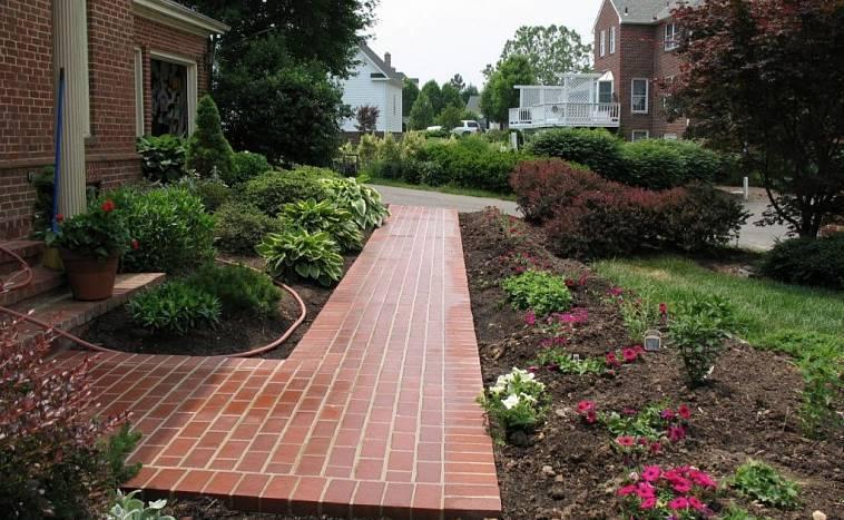 Дизайн двора частного дома (60 фото): красивые идеи оформления