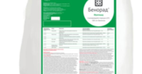 Энвидор - инструкция по применению, нормы расхода, рекомендации