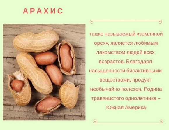 Польза арахиса для организма мужчины