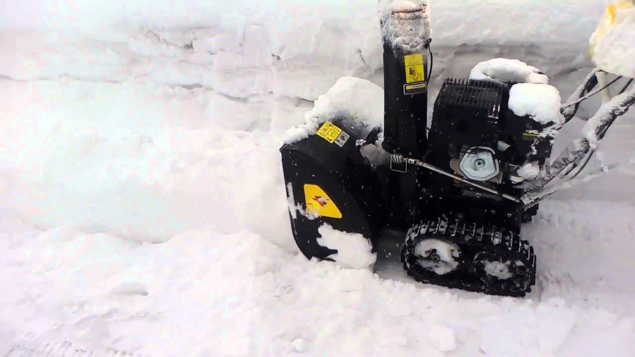 Обзор снегоуборщиков huter sgc 8100 и 8100c