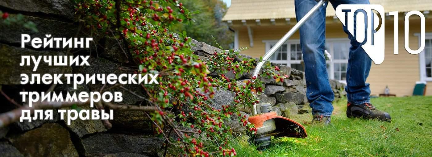 Выбираем лучший электрический триммер: топ-6 моделей для скашивания травы - мастерим для дома и дачи своими руками