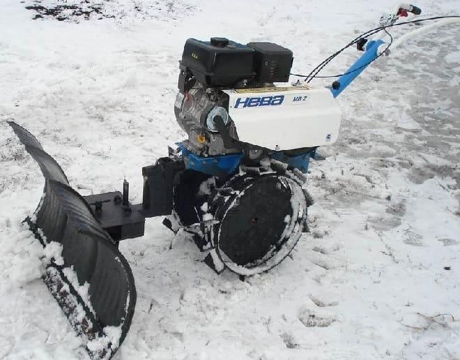 Как сделать снегоочистную лопату для мотоблока своими руками
