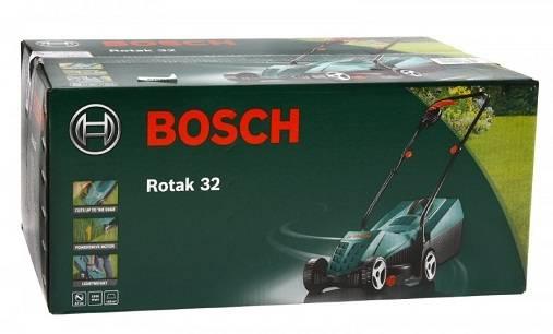 Газонокосилка bosch rotak 32. технические характеристики. отзывы