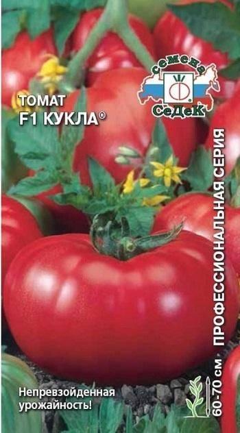 Замечательный томат, рекомендованный для выращивания в теплицах — гибридный сорт «кукла»