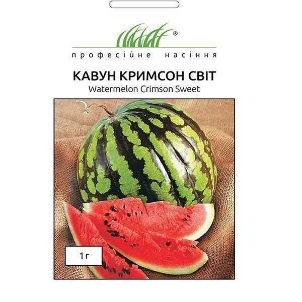 Описание и технология выращивания арбуза сорта кримсон свит