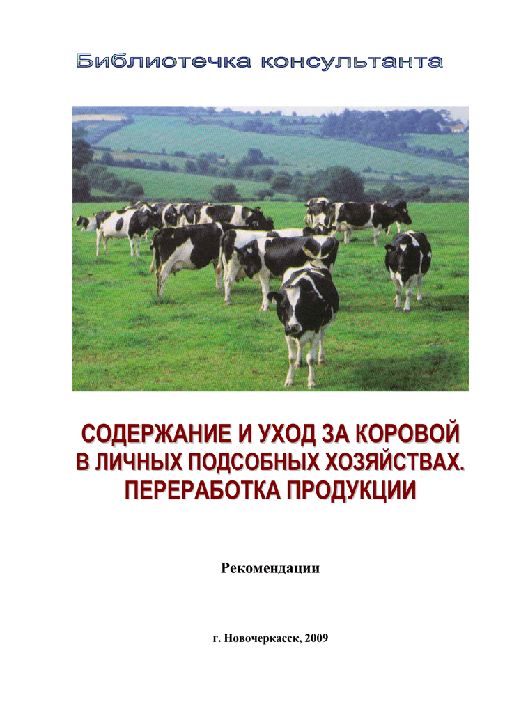 Примерная схема бизнес-плана по разведению коров