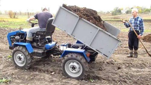 Как сделать мини-трактор переломку своими руками?