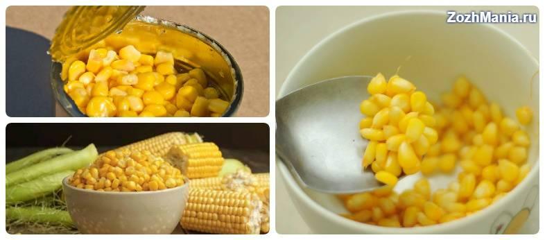Польза и вред кукурузы для организма человека