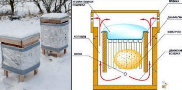 Секреты утепления улья на зиму своими руками