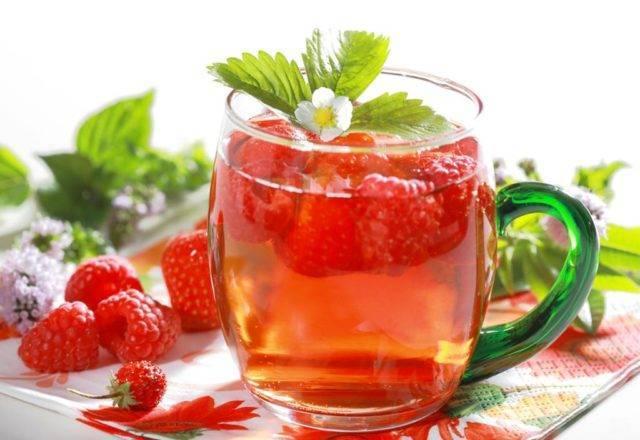 Полезно ли пить чай с малиной при простуде