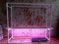 Монтируем освещение рассады в домашних условиях