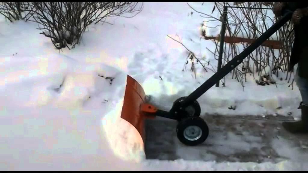 Как сделать лопату для уборки снега своими руками?