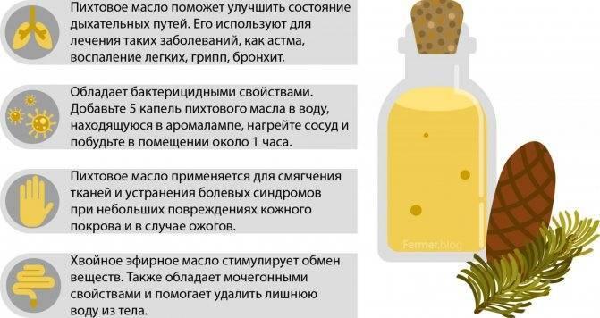 Остеохондроз: лечение пихтовым маслом