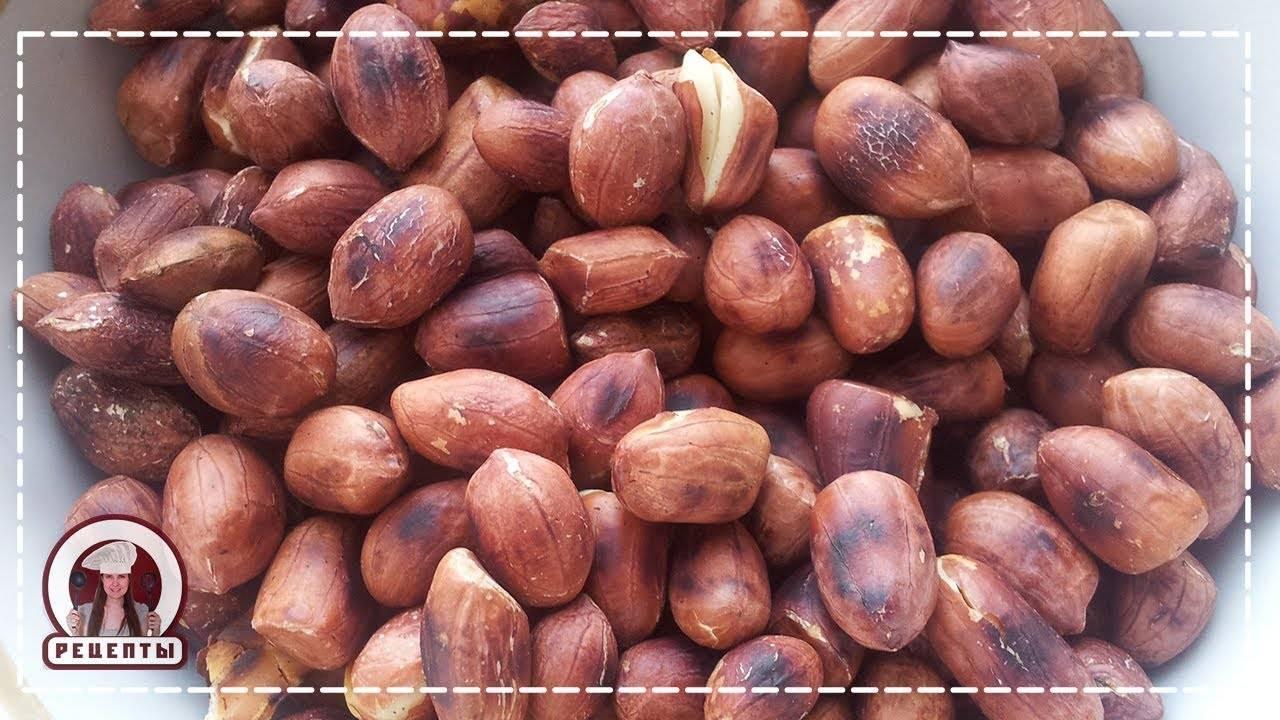 Как правильно жарить арахис в микроволновке